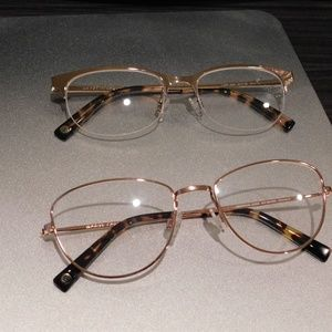 MYA Accessories - Rose Gold frames Lot of 2 Glasses